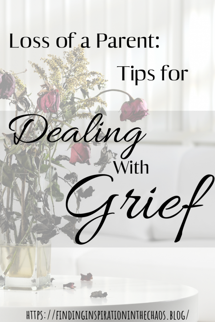 Tips for Dealing with Grief After the Loss of a Parent