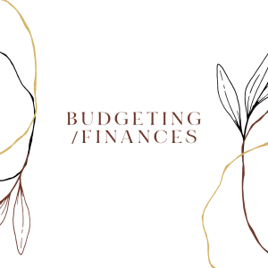 Budgeting/Finances